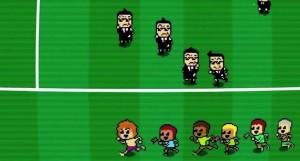 Crazy Pixel Streaker : Courrez vite avant que les méchants vous attrapent!