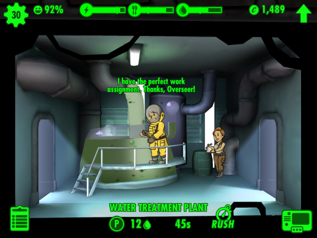 Fallout Shelter - screenshot 1