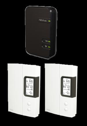 GT125-K2 - Déballage des thermostats intelligents de Sinopé