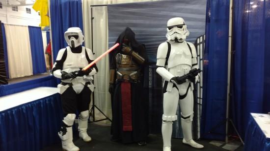 La forteresse Impériale Star Wars