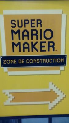 Super Mario Maker au KidCon
