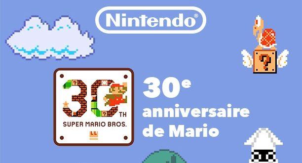 Super Mario Bros fête ses 30 ans et il vous invite à jouer a Super Mario Maker sur IMAX.
