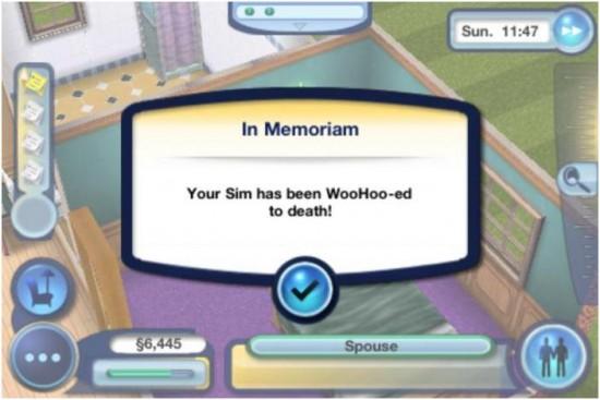Décès aléatoire - 5 meilleures façons de tuer les Sims
