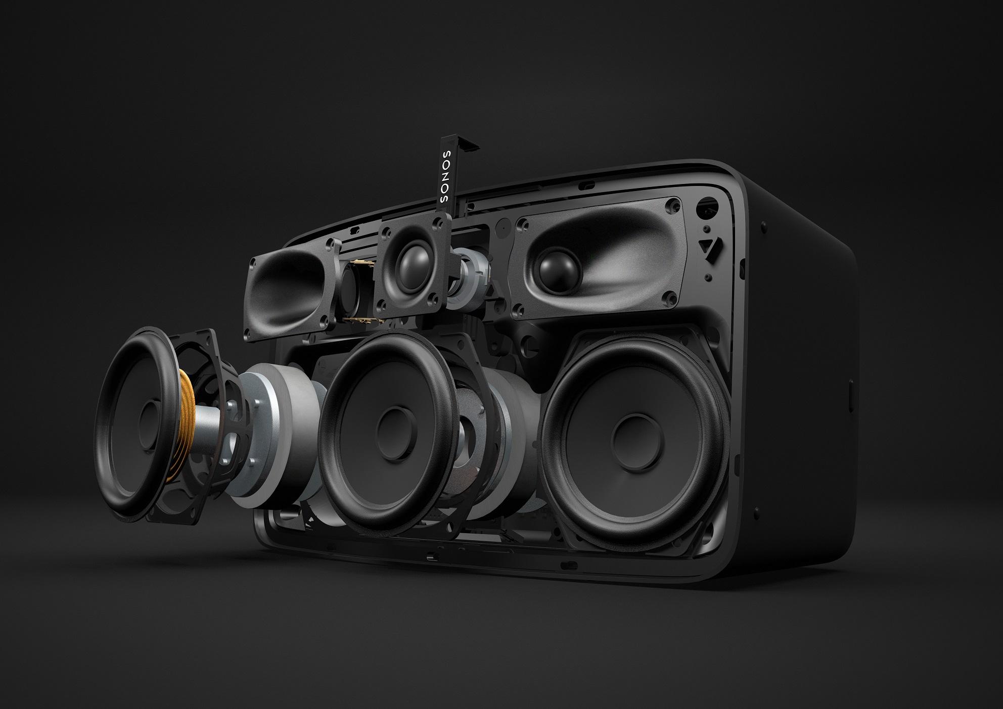 Le haut parleur est compatibe avec Deezer, Spotify, Tidal, Google, etc.