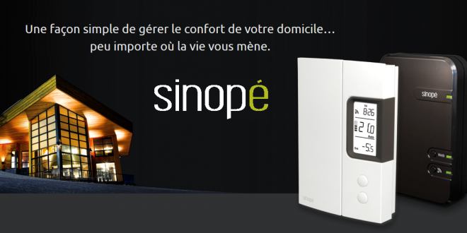 déballage des thermostats intelligents de Sinopé