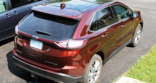 Vue de haut - Ford Edge 2015