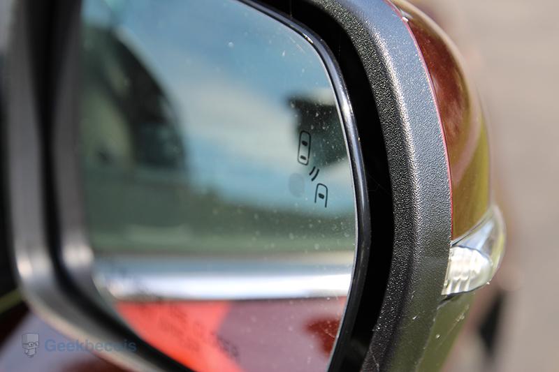 Alerte d'angle mort BLIS® - Ford Edge 2015