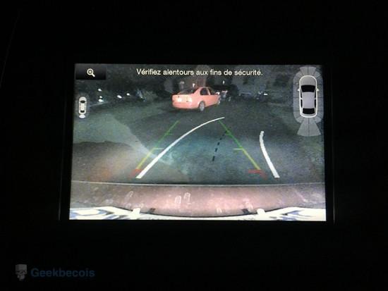 Caméra de recul | MyFordTouch - Ford Edge 2015