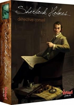 Boite Sherlock Holmes - Des jeux de société pour Noël