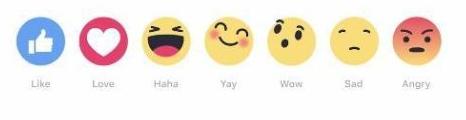 Facebook et ses nouveaux émoticones