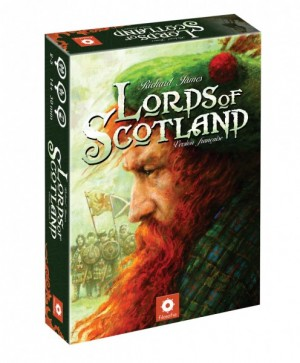 Boitier du jeu Lords of Scotland