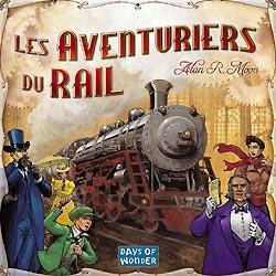 Les Aventuriers du rail - boitier