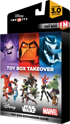 Disney Infinity 3.0 - Toy Box Takeover