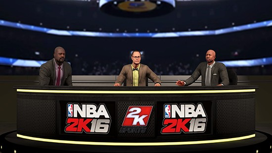 Shaq, Ernie Johnson et Kenny Smith