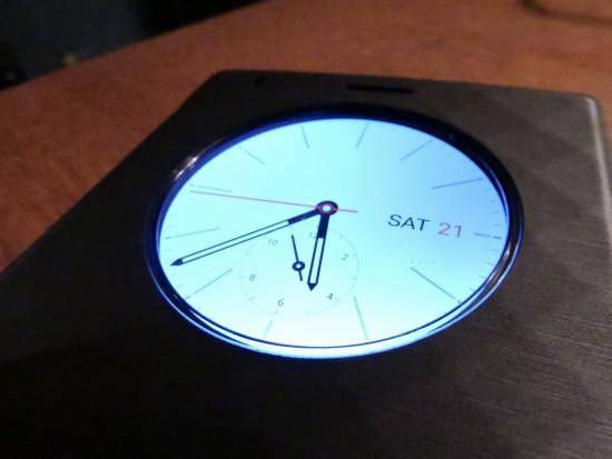 Horloge - LG Quick Circle