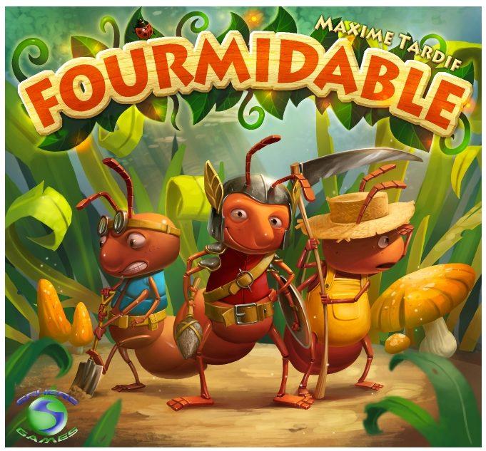 Boitier du jeu Fourmidable