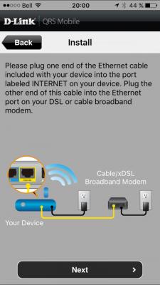 D-Link DIR-890L - QRS Mobile
