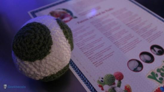 Patron de tricot de l'oeuf de Yoshi - Prise 2