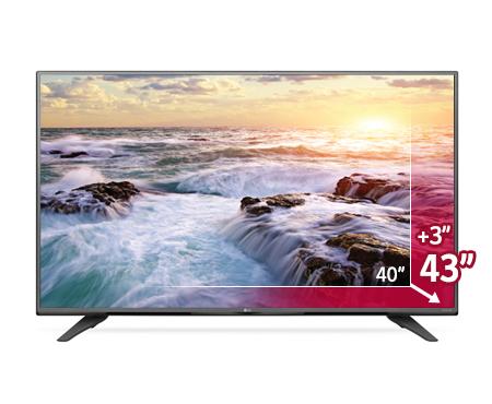 Grandeurs de la TV 4K LG 43UF6800