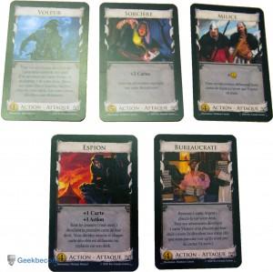 Dominion - cartes Attaque