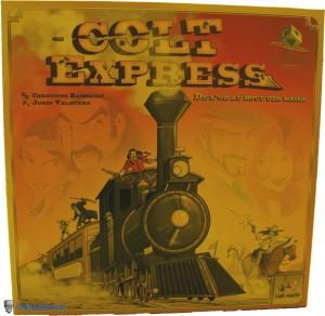 Colt Express - boitier