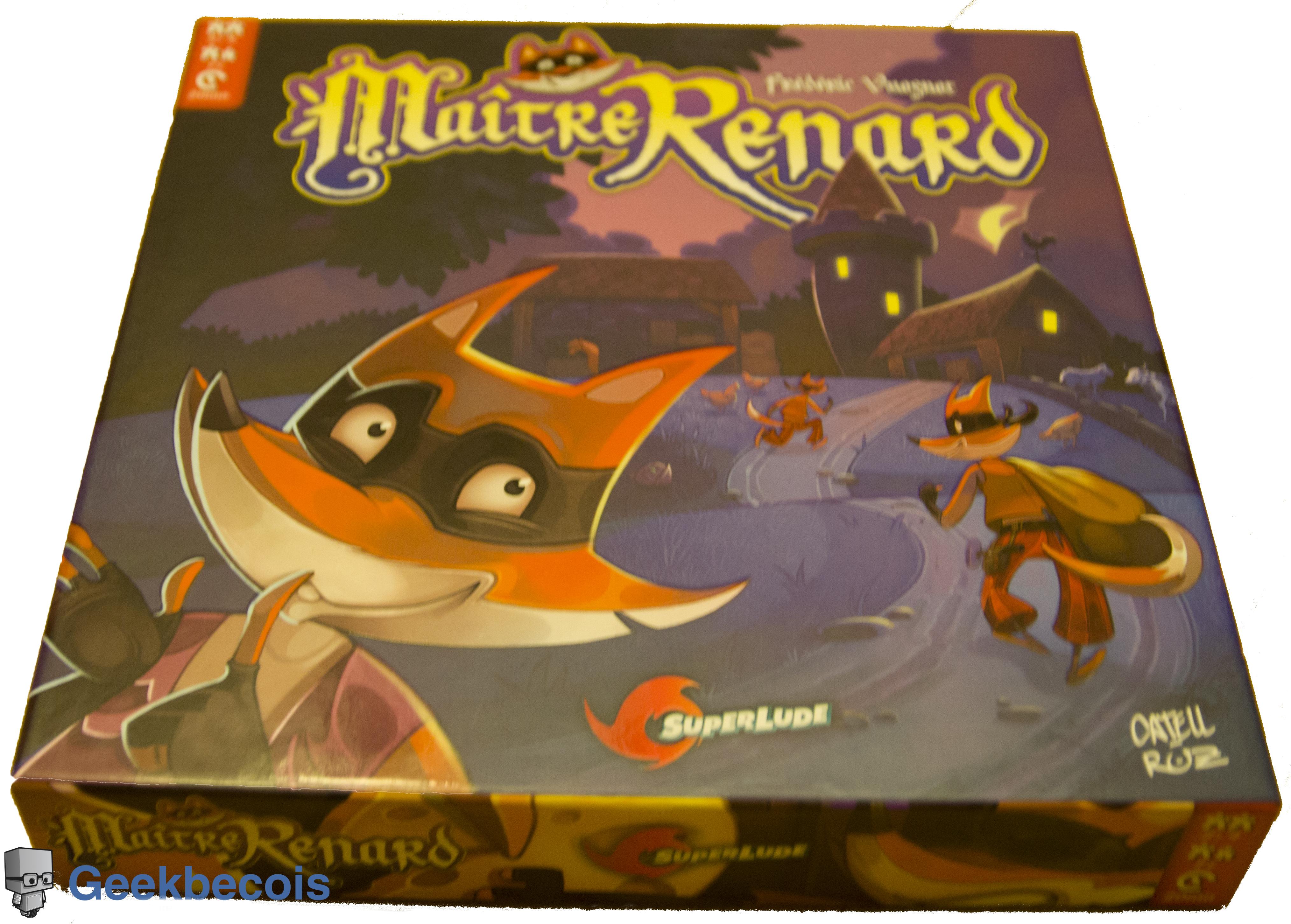 Maitre Renard - boite