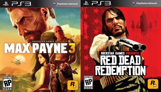 Max Payne 3 et Red dead redemption combo ps3