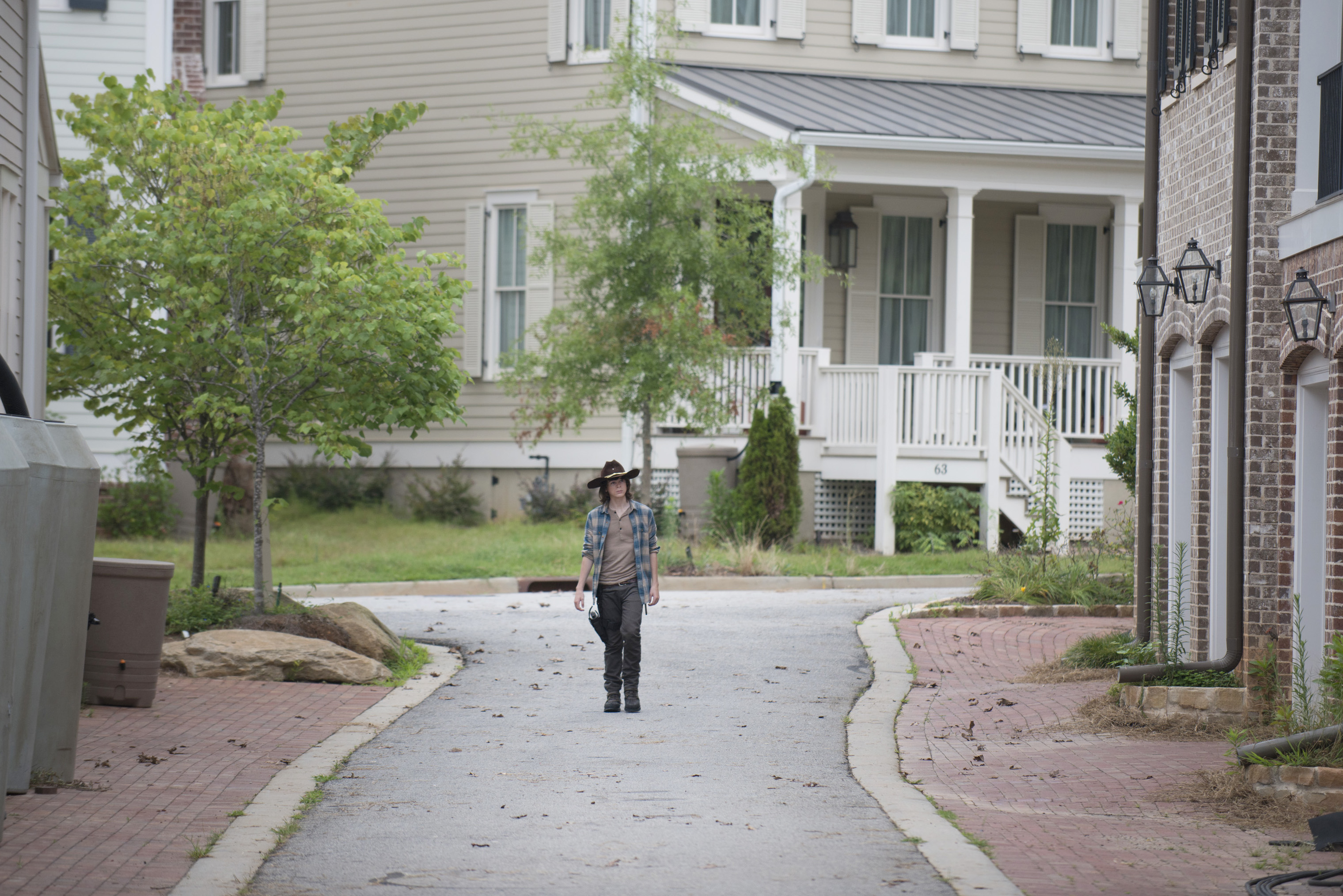 Chandler Riggs / Carl Grimes - The Walking Dead Saison 6 Épisode 7 - Crédit photo : Gene Page/AMC