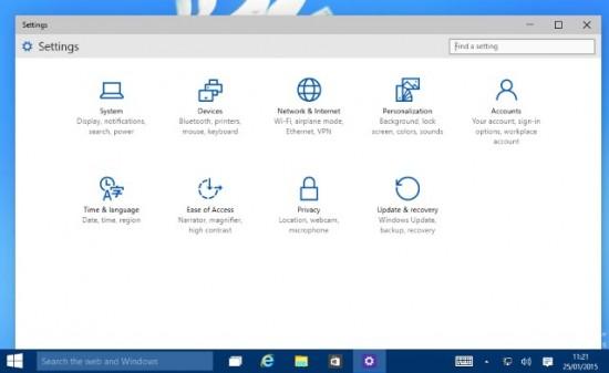 Cherchez l'icone mise à jour dans le tableau de bord pour effectuer la mise à jour - Windows 10