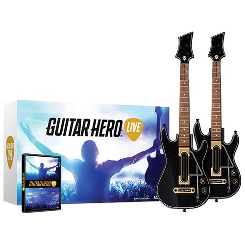Ensemble Guitar Hero Live (PS4) - Paquet de 2