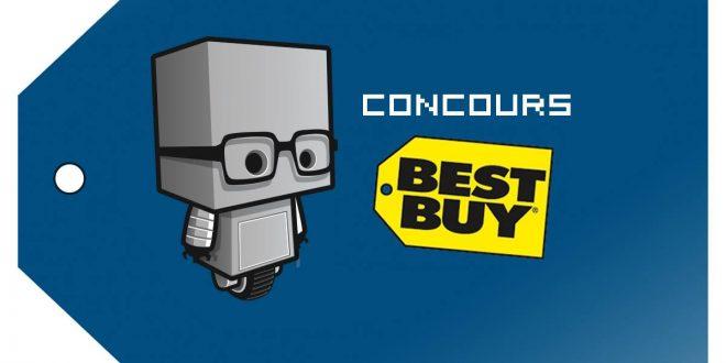 Best Buy - Bannière concours Noël