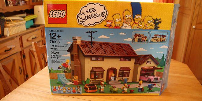 Maison LEGO The Simpsons