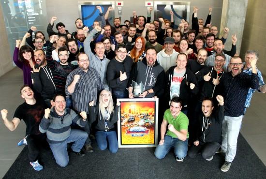 L'équipe derrière Skylanders SuperChargers Racing 3DS