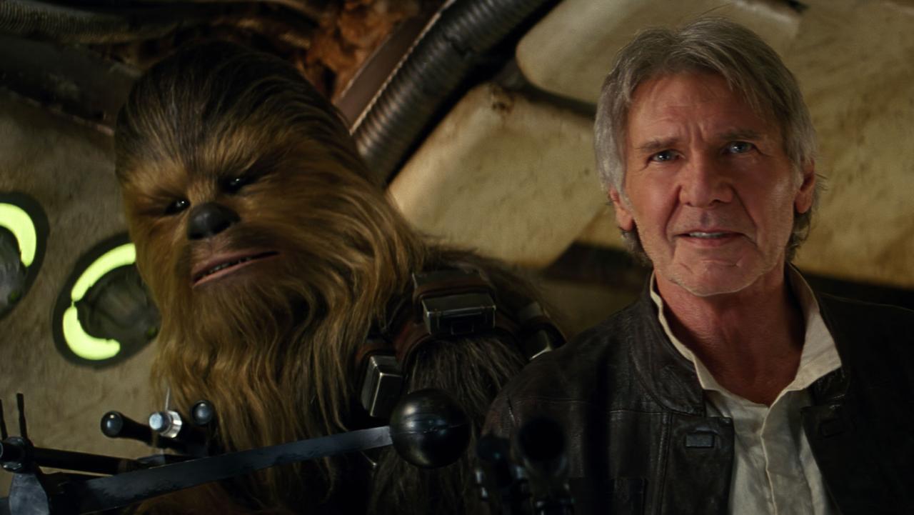 Chewie & Solo - Star Wars Le Réveil de la Force