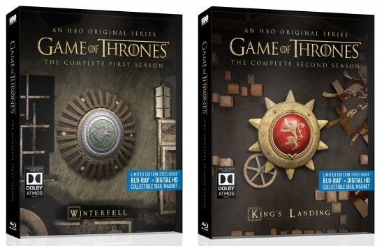 Game of Thrones SteelBook saisons 1 et 2 | Best Buy