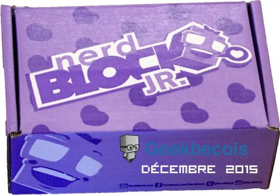 La boîte elle-même - Nerd block jr Girls de décembre 2015