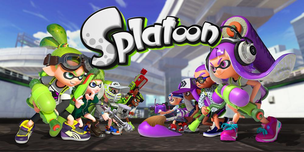 Splatoon - Meilleur jeu multijoueur