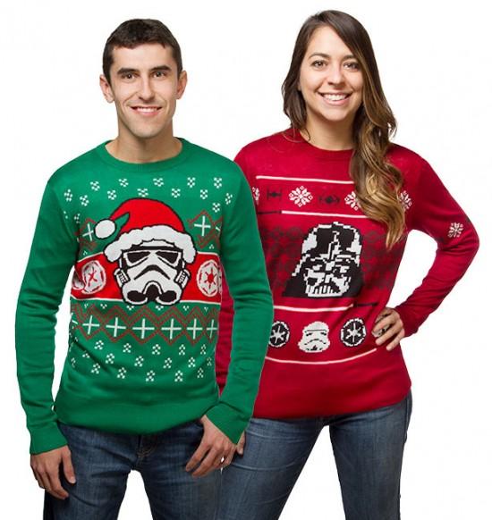 Chandails de Noël Star Wars
