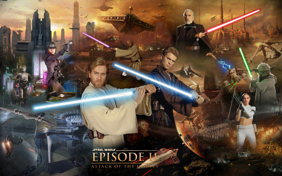 Top 6 Star Wars - Episode II : Attack of the Clones