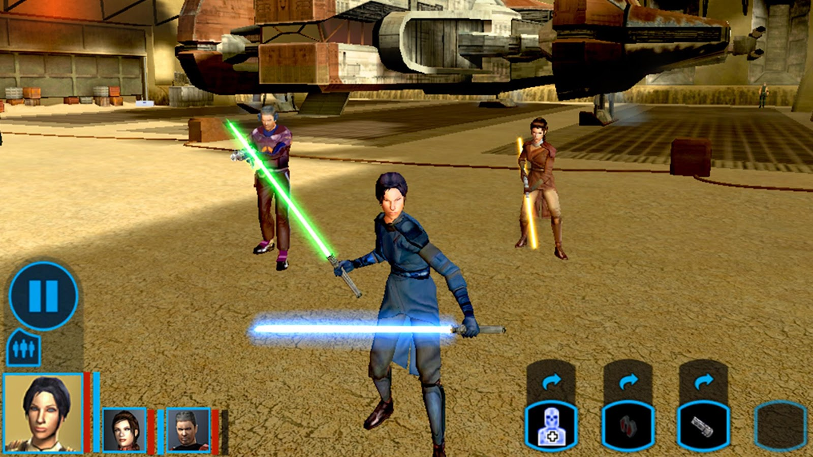 Knights of the Old Republic (Xbox, 2003 - PC, 2004) - Top 5 des meilleurs jeux Star Wars