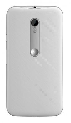 Moto G 3 (2015) - dos blanc