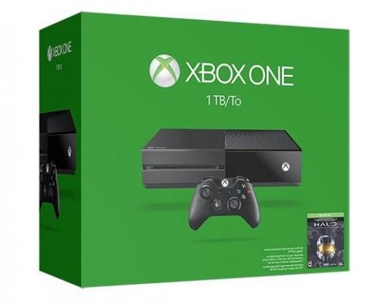 Ensemble Xbox One 1 To avec 5 jeux gratuits