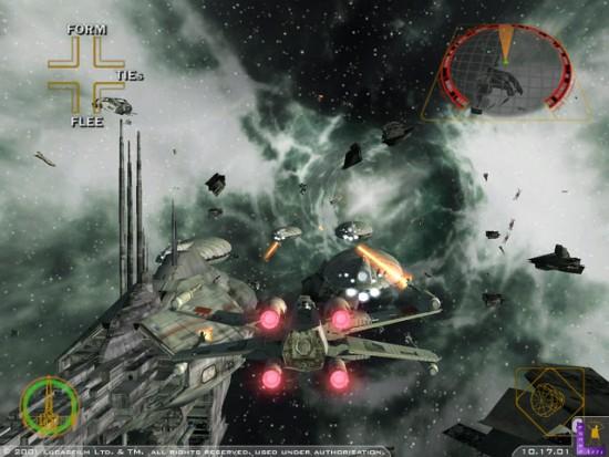 Rogue Squadron II : Rogue Leader (Gamecube, 2001) - Top 5 des meilleurs jeux Star Wars