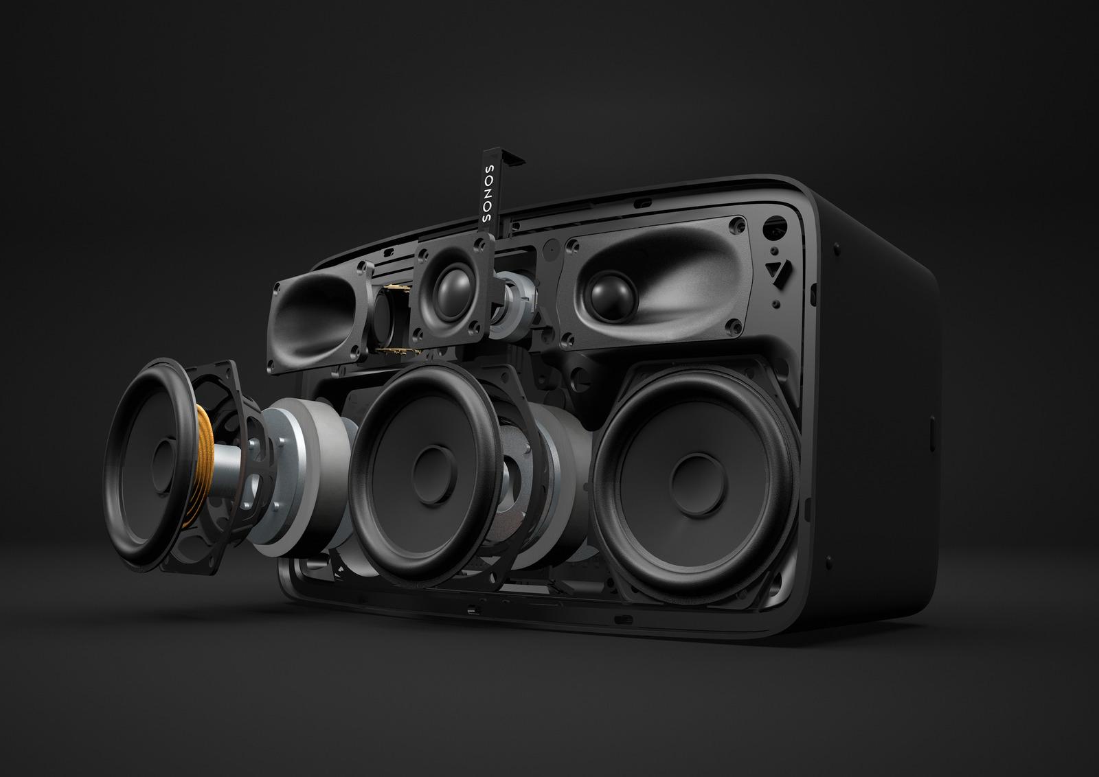 Sonos PLAY:5 v2 | Vue explosive