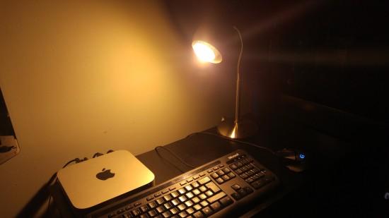 Éclairage produit par l'ampoule Sengled Pulse Solo
