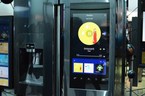 Réfrigérateur intelligent de Samsung