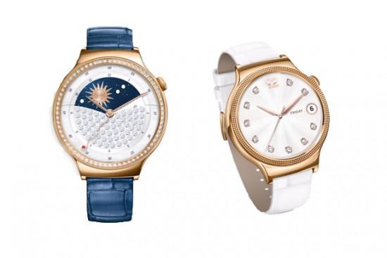 Huawei Jewel (bleu) et Elegant (blanc)