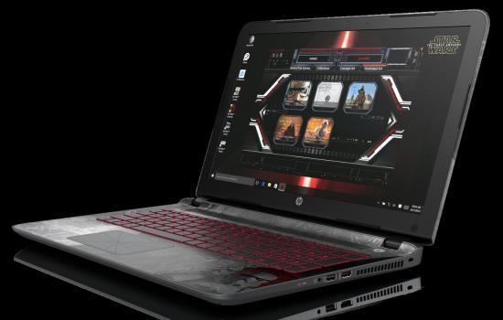 10 Idées Cadeaux geek pour la Saint-Valentin - Laptop Star Wars HP | via HP