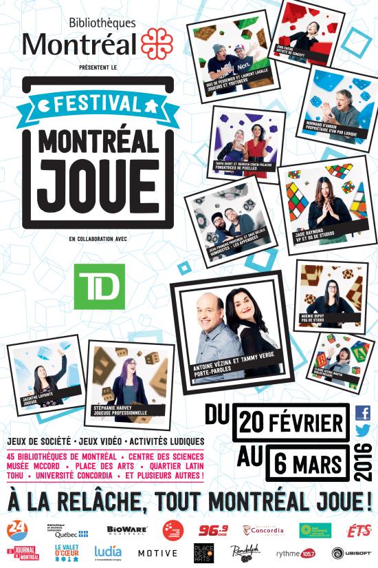 Montréal joue version 2016