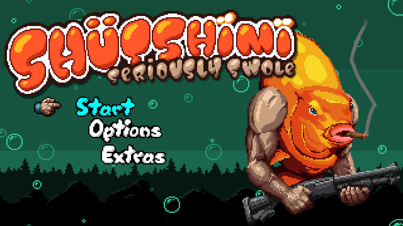 Nintendo eShop 4 février 2016   Wii U - Shutshimi - title screen